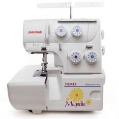janome magnolia 7034d serger sewing machine